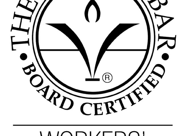 Attorney Vicki Stolberg receives re-certification in Workers' Compensation Law
